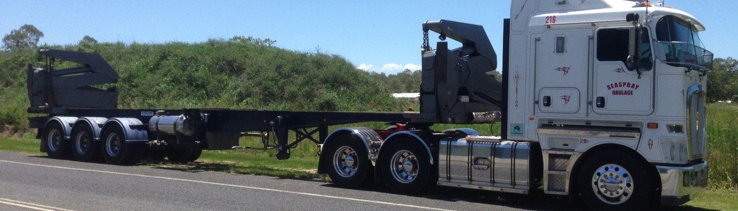 Seaspray Haulage Truck